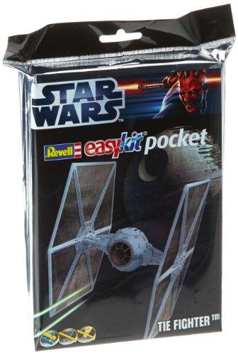Model Kit - Star Wars Tie Fighter Easy Kit Pocket - 1:110 Scale by Revell