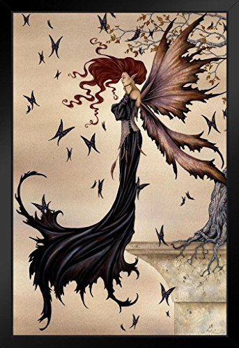 Mystique by Amy Brown Art Print Framed Poster 14x20 inch