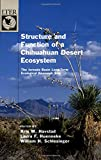 img - for Structure and Function of a Chihuahuan Desert Ecosystem: The Jornada Basin Long-Term Ecological Research Site (Long-Term Ecological Research Network Series) book / textbook / text book
