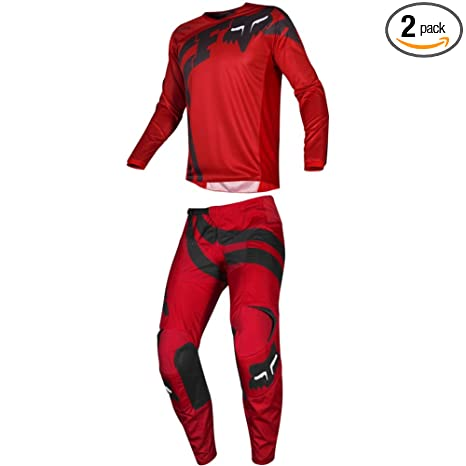 Fox Racing 2019 180 COTA Jersey and Pants Combo Offroad Gear Set Adult Mens Red Large Jersey//Pants 32W