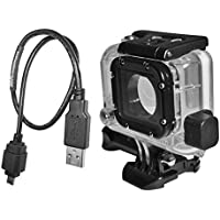 X~PWR All-weather, External Power Case Kit for GoPro Hero 3, Hero 3+ and Hero 4 Camera with 18 B-CAPP Cable