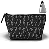 Louise Morrison Ice Skating I Love Figure Skating Pen Stationery Pencil Case Cosmetic Makeup Bag Pouch