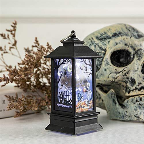 (Studyset Light Decor, Simulate Halloween Series Pattern Flame Light for Home Bar Tabletop Decoration 铜丝灯骨架 )