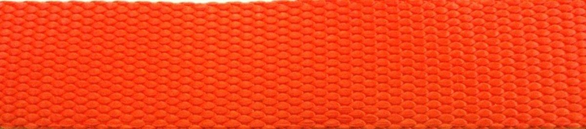 "Northwest Contract Sewing 3 Way Dog Leash Coupler Pet Training Lead (1'' Florescent Orange, 6"" length)"