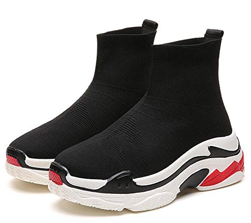 Uk3 Shoes Calcetines High 5 Transpirables Deportivos Elásticos Zapatos Casuales Eu35 11 Cn35 5 top Kuki Us5 OwqSCw