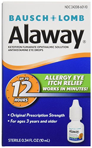 Bausch & Lomb Alaway Eye Itch Relief, 0.34 Ounce (Lomb Eye)