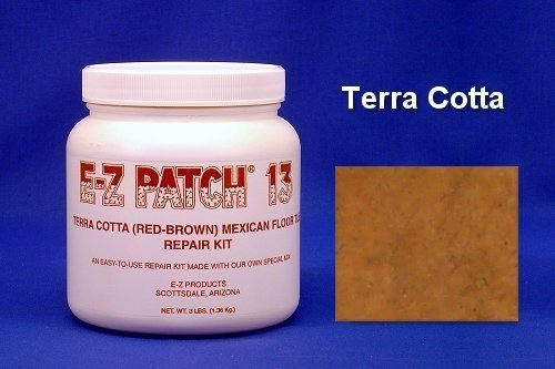 EZ Products EZP-375 3 No. Saltillo Tile Repair Terra Cotta Each - Any QUANITY
