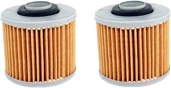 Aisen 2x Ölfilter Für Yamaha Xt500 Xv535 Xt550 Xz550 Srx600 Tt600 Xt600 Hiflo Hf145 Baumarkt