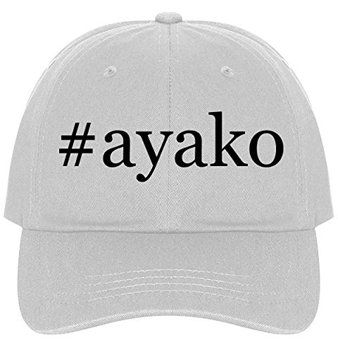 (The Town Butler #Ayako - A Nice Comfortable Adjustable Hashtag Dad Hat Cap, White)