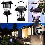 ProBache - Lanterne anti-moustique énergie solaire 2 en 1 lampe anti-insecte
