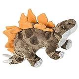 ArtCreativity 14 Inch Cozy Stegosaurus Plush Dinosaur Toy - Soft and Cuddly Stuffed Animal for Kids - Cute Nursery Decor - Carnival Prize - Best Gift for Baby Shower, Boys, Girls