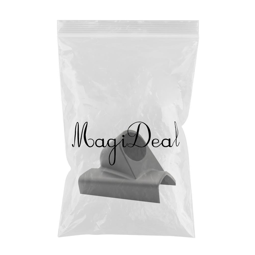 Color Negro 1 Agujero MagiDeal Soporte de Montaje de Estilo Pilar para Medidor Instrumento de Coche 52mm de Agujero