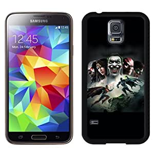 Unique Galaxy S5 Case,Durable I9600 Case Design with Injustice Gods Among Us Samsung Galaxy S5 SV I9600 Black Case
