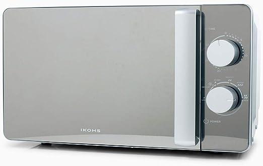IKOHS Microondas MW700M Espejo - Microondas, 700W,Capacidad de 20L ...