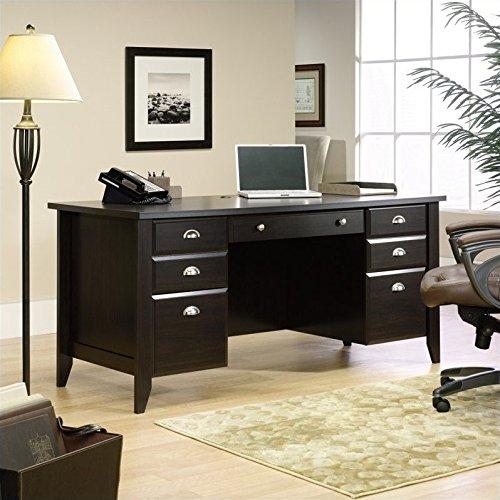 Sauder Shoal Creek Executive Desk, L: 65.12