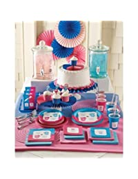 Gender Reveal Baby Shower - Bow or Bowtie Deluxe Party Pack for 8 BOBEBE Online Baby Store From New York to Miami and Los Angeles
