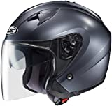 HJC IS-33 ANTHRACITE SIZE:LRG Motorcycle Open-Face-Helmet