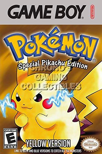 CGC Huge Poster - Pokemon Yellow Version Special Pikachu ...