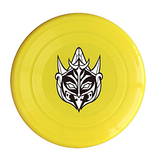 [YYHU - Plastic Doubutsu Sentai Zyuohger Deathgaliens Flying Discs - Yellow] (Power Ranger Samurai Antonio Costume)