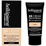 bellapierre derma renew bb cream light, 40 Grams