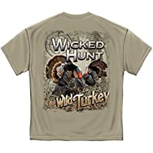 Erazor Bits 100% Cotton Wicked Hunt Turkey T-Shirt