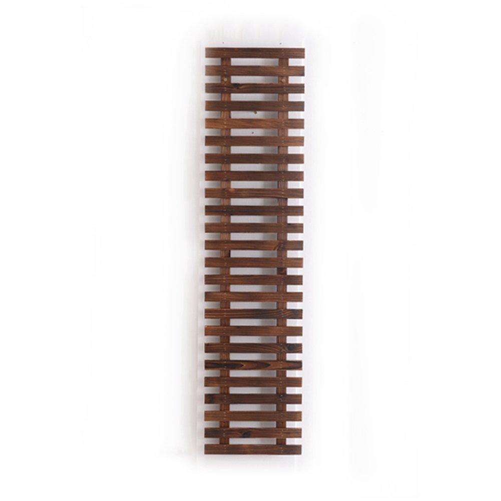 LXLA- Espositore per fiori Stand in legno massello Stand Rack per vasi Espositore per mensole da parete per scale Mensola per piante in vaso da parete (dimensioni   120×29cm)