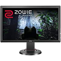 BenQ ZOWIE RL2455T 24 inch Full HD Gaming Monitor - 1080p 1ms Response Time for Competitive eSports Gaming, 75Hz, Dual HDMI, DVI-D, D-Sub (w/ Height Adjustment)