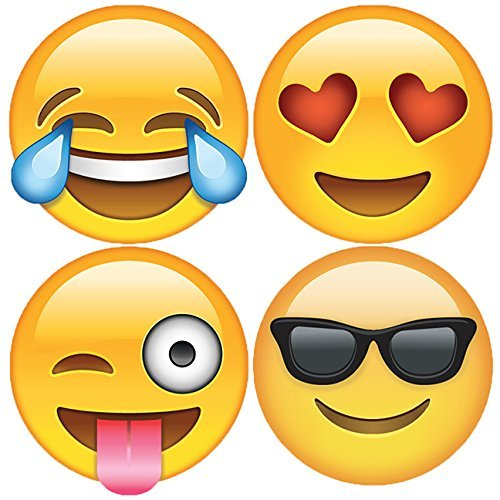 Coolest Hat Ever >> Emoji stickers large - StoreIadore