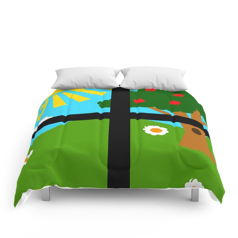 Society6 Out The Window Comforters Full: 79'' x 79''