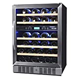 NewAir AWR-460DB 46 Bottle Built in Dual Zone Compressor Wine...