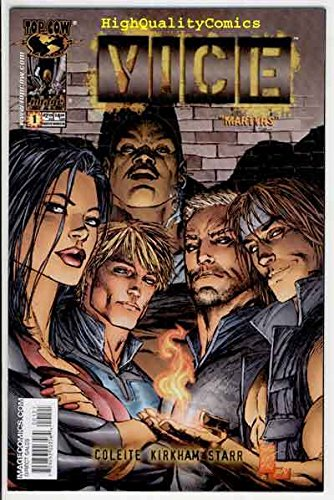 VICE #1, NM, Martyrs, Marc Silvestri cover, 2005