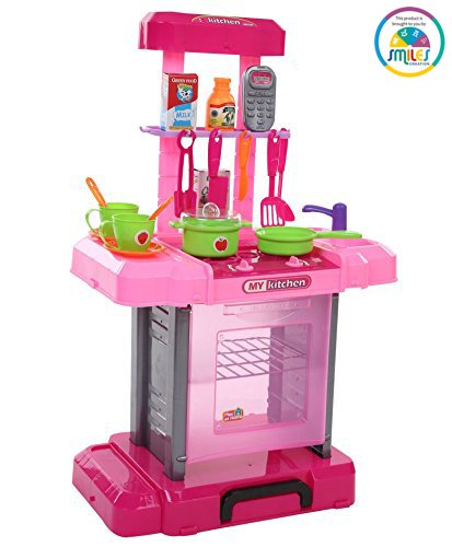 Buy Smiles Creation Big Kitchen Play Set Online At Low Prices In