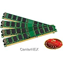 CenterNEX® 8GB Memory KIT (4 x 2GB) For ASUS ASmobile Motherboard P5 P5E3 Deluxe Premium WiFi-AP P5E64 WS Evolution Professional P5K3 P5K64. DIMM DDR3 NON-ECC PC3-