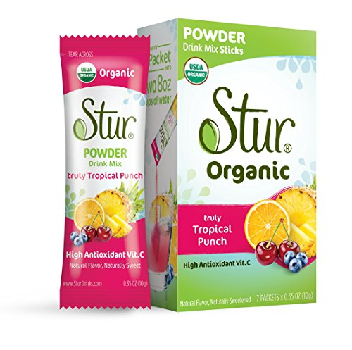 Stur - Powder Tropical Punch (42ct Sticks) – ORGANIC Powd...