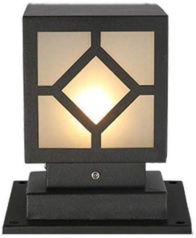 防雨列ランプドアヴィラガーデンパーク防水フェンスガーデンヴィラ装飾列ランプE27現代列ランプ中庭屋外列ランプ