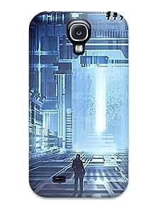 [CBifqOX22219bMHPB] - New Futuristic Buildings Protective Galaxy S4 Classic Hardshell Case
