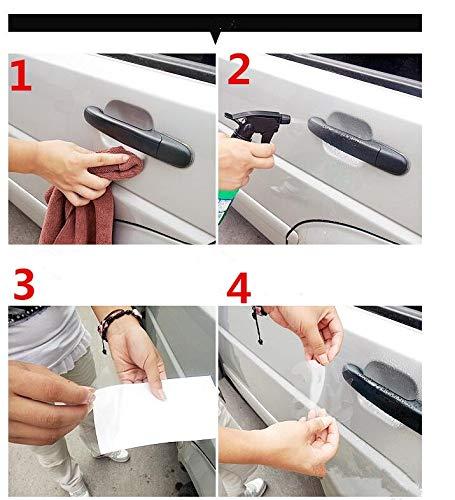 5 Accesorios de protecci/ón para Manilla de Coche para Mitsubishi ASX Outlander Lancer EX Pajero para Mazda 2 3 5 6 8 CX 5 CX-5 CX-7 CX-9 Fly/&Hi