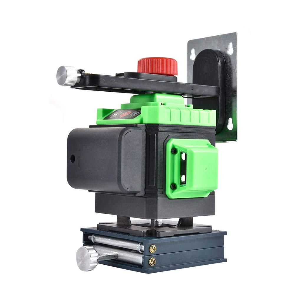 base giratoria magn/ética 603CG 3x360 crossover 3D rayo verde alineaci/ón de nivelaci/ón autom/ática de tres planos nivel /óptico dos l/íneas verticales de 360 /° y una l/ínea horizontal de 360 /°