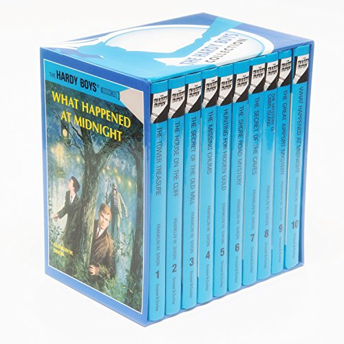 Hardy Boys Mystery Collection (Boxed Set of 10 books) [Hardcover]