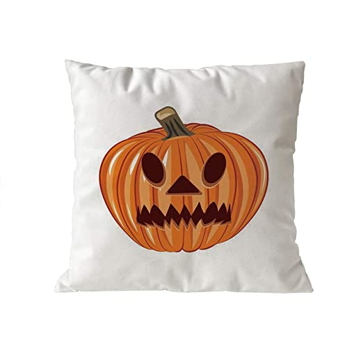 K-youth Fundas de Cojin 45x45 Suaves Microfibra Halloween ...