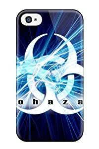 Hot Snap-on Biohazard Hard Cover Case/ Protective Case For Iphone 4/4s