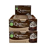 quest coffee - Quest Nutrition Protein Bar Mocha Chocolate Chip. Low Carb Meal Replacement Bar w/ 20g+ Protein. High Fiber, Soy-Free, Gluten-Free (24 Count)