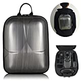 "DJI Mavic Pro Hard Shell Backpack, Upgraded Mini HardShell Case (13.5x9.3x 5.7"" only & Could Carry 3 Batteries ), Waterproof Anti-Shock PC Carrying Bag for Mavic Pro and Accessories by Dreamlizer"