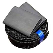 Festool Hose Cover Sleeve Kit for 27mm x 3.5m Hose by Dakota Tool, Fits Other Vacuum Hoses That Are Between 1in and 1 1/2in in diameter