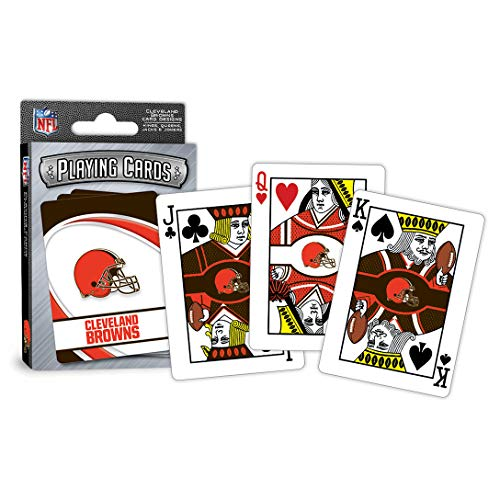 MasterPieces NFL Cleveland Browns Playing - Playing Sports Cards