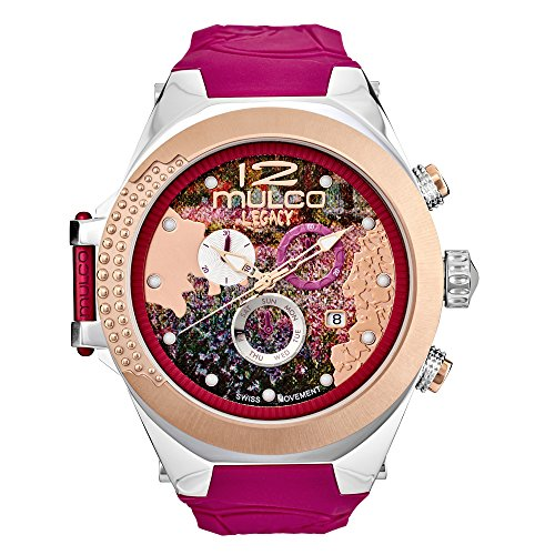 Mulco Legacy MW5-3700-523 Impressionism Collection Fucsia Band