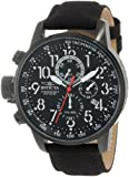 "Invicta Men's 1517 I ""Force"" Collection Stainless Steel and Cloth Strap Watch"