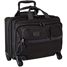 Tumi Alpha Ballistic Business 4 Wheel Deluxe Brief with Laptop Case