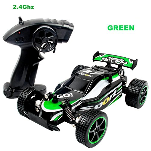 - Voberry 1:20 2.4GHZ 2WD Radio Remote Control Off Road RC RTR Racing Car Truck (Green)