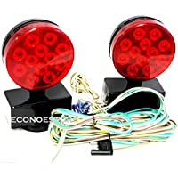 Auto 12V Magnetic LED Trailer Towing Light Kit For Camper Boat Truck Towing